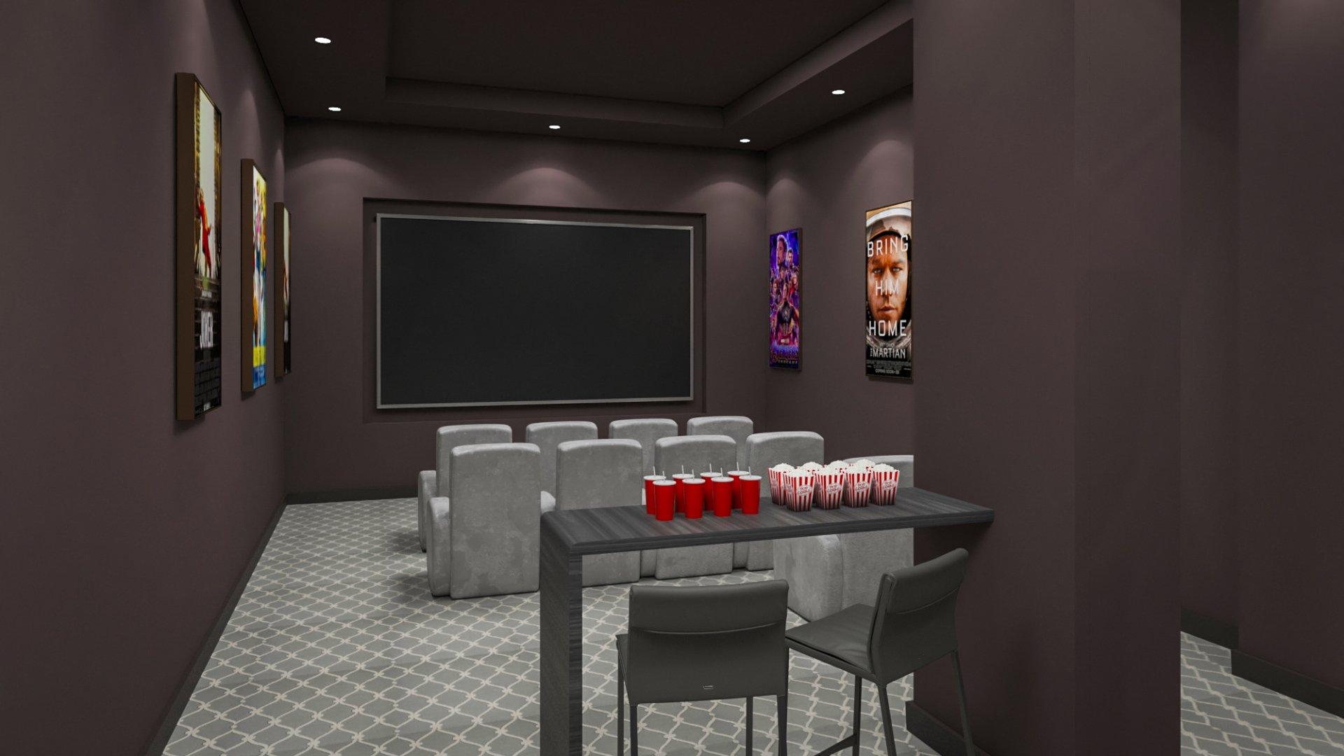 nahid kennedy - media room